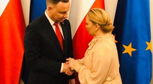 Noworoczne spotkanie na zaproszenie|Prezydenta RP Andrzeja Dudy