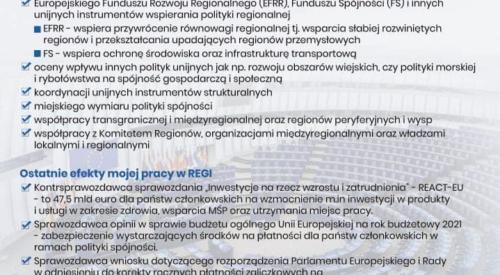Komisja Rozwoju Regionalnego w Parlamencie Europejskim