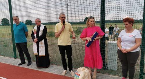 Otwarcie boiska sportowego w Sowinie Błotnej